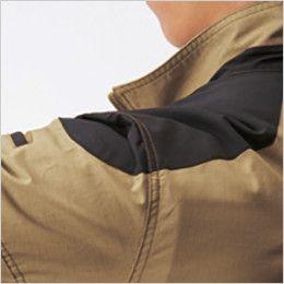 空調服 バートル AC1141SET-B エアークラフト 綿100% ハーネス対応  長袖ブルゾン(男女兼用) コーデュラ補強布使用