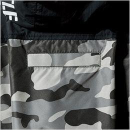 空調服 バートル AC1156 [春夏用]エアークラフト タクティカル半袖ブルゾン(男女兼用) ナイロン100% ランヤード取付口