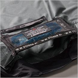 空調服 バートル AC1156 [春夏用]エアークラフト タクティカル半袖ブルゾン(男女兼用) ナイロン100% 通気エアダクトポケット、保冷剤を入れると、さらにクールに