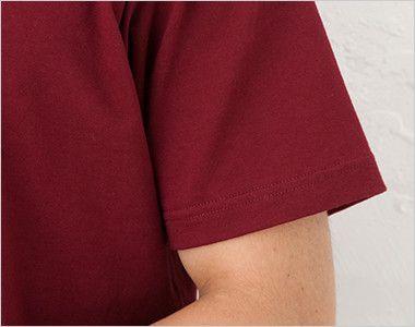 特厚Tシャツ(7.1オンス)(男女兼用) 袖口部分