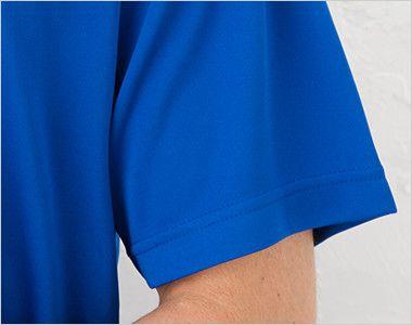 ドライシルキータッチTシャツ 4.7オンス(男女兼用) 袖部分