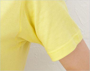 レギュラーフィットTシャツ(5.0オンス)(男女兼用) 袖部分