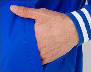 ナイロンスタジアムジャケット(男女兼用) ポケット付き