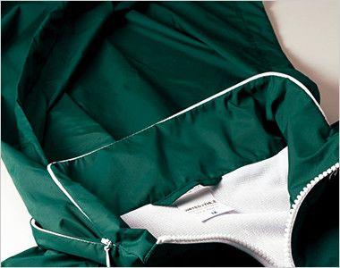 ナイロン スタンドジャケット(フードイン)(ライニング付)(男女兼用) フードイン可能