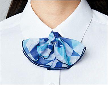 AR1529 アルファピア [通年]七分袖シャツ[ニット/紫外線カット] ライトボタンが付けられる衿下ボタン付き