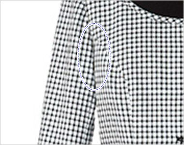 AR1568 アルファピア [春夏用]ライトジャケット スラブ・グラデーションチェック デオドラントテープ付き