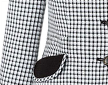 AR1568 アルファピア [春夏用]ライトジャケット スラブ・グラデーションチェック スマホルダー付右ポケット