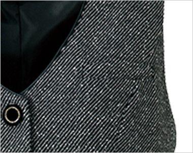 AR2451 アルファピア [秋冬用]ベスト ツイード ポケット