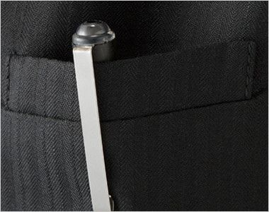 AR2814 アルファピア [通年]ベスト シャドーストライプ ポケット