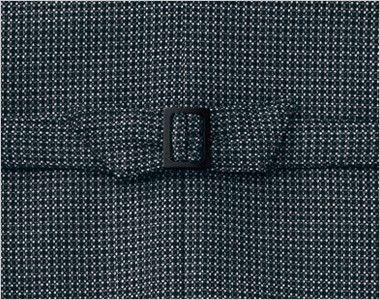 AR2831 アルファピア [秋冬用]ベスト エコ・ライラックドビー チェック 背ベルト