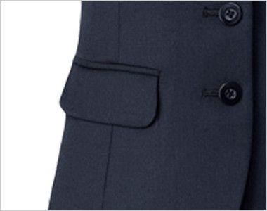 AR2832 アルファピア [秋冬用]ベスト ツイル ストレッチ 無地 ポケット