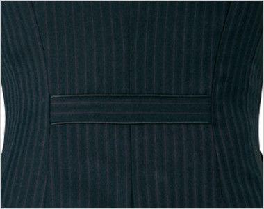 アルファピア AR2847 [通年]ストライプ地のベスト 背ベルト