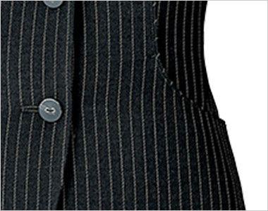 [在庫限り/返品交換不可]AR2861 アルファピア [通年]ベスト スパイラルストライプ 両脇ポケット
