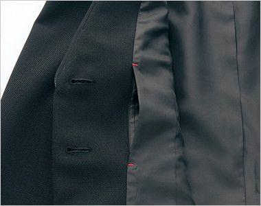 AR4446 アルファピア ジャケット ファンシーバーズアイ ポケット