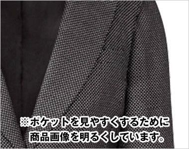 AR4817 アルファピア [秋冬用]ジャケット クリスタル・バーズアイ ドット ポケット