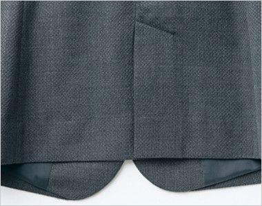 アルファピア AR4823 [通年]美シルエットのテーラードジャケット [無地] 動きやすいセンターベント