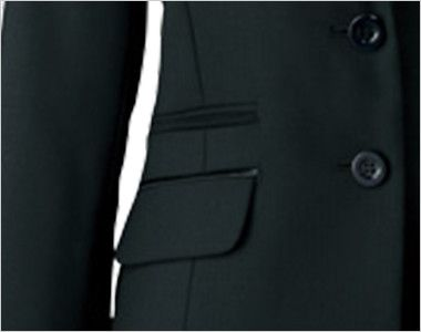 AR4842 アルファピア [秋冬用]ジャケット ミニヘリンボーン ポケット
