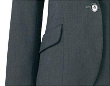 AR4849 アルファピア [通年]ジャケット 無地 ポケット