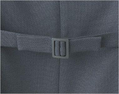 アルファピア UF2507 [秋冬用]ベスト 3つボタン [無地] 背ベルト
