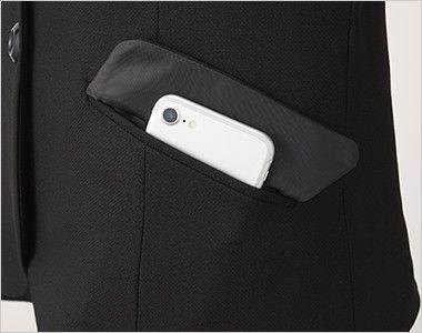 アルファピア UF4510 [秋冬用]ベーシック・ジャケット[無地] ポケット付き