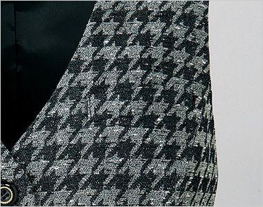 ユキトリイ YT2911 [秋冬用]千鳥格子のベスト ポケット