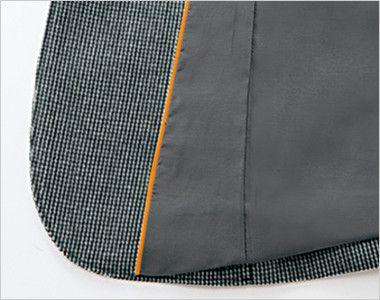 [在庫限り/返品交換不可]YT4304 ユキトリイ ジャケット スイングドット 見返しにライン配色