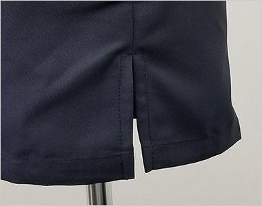 7756 チトセ(アルベ) シングルコックシャツ/五分袖(男女兼用) スリット入り