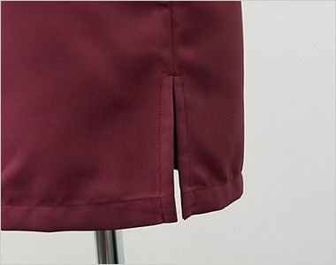 7757 チトセ(アルベ) コックシャツ/五分袖(男女兼用) スリット入り