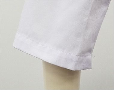 AS-7828 チトセ(アルベ) コックコート/七分袖(男女兼用) 七分袖
