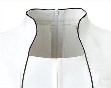 CL-0181 キャララ(Calala) ワンピース(女性用) 首を長く美しく魅せ、小顔効果のある上品なパイピング