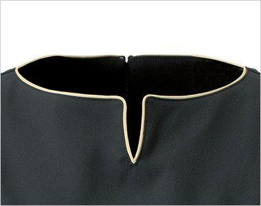 CL-0185 キャララ(Calala) チュニック(女性用) デコルテラインを美しく魅せるパイピングデザイン