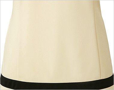 CL-0203 キャララ(Calala) チュニック 裾ブラック(女性用) ポケット付き