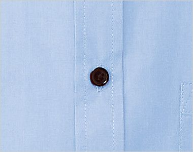 EP-5963 チトセ(アルベ) ブロードシャツ/半袖(男女兼用)レギュラーカラー シンプルな黒