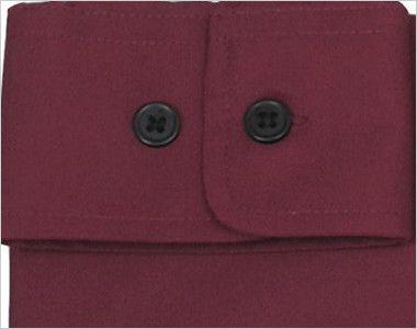 EP-6839 チトセ(アルベ) ブロードシャツ/長袖(男女兼用)スタンドカラー ボタン