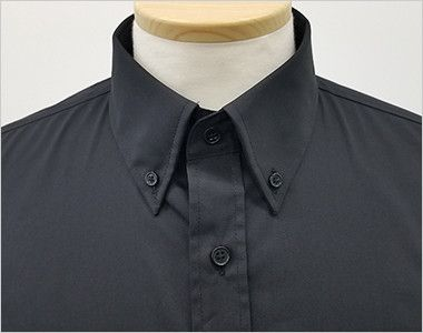 EP-7616 チトセ(アルベ) ボタンダウンシャツ/長袖(男女兼用) きちんとした印象のボタンダウンの襟元