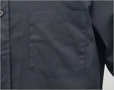 EP-7616 チトセ(アルベ) ボタンダウンシャツ/長袖(男女兼用) ポケット付き