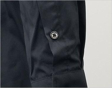EP-7616 チトセ(アルベ) ボタンダウンシャツ/長袖(男女兼用) 腕まくりがしやすい袖ボタン付き