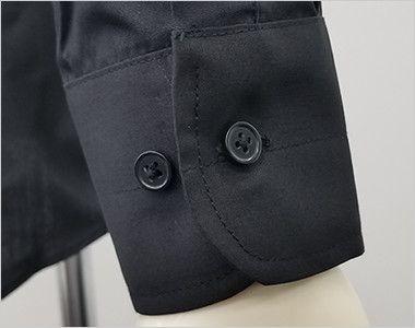 EP-7616 チトセ(アルベ) ボタンダウンシャツ/長袖(男女兼用) 袖口部分