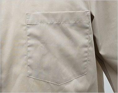EP-7618 チトセ(アルベ) ブロードシャツ/七分袖(男女兼用) ポケット付き