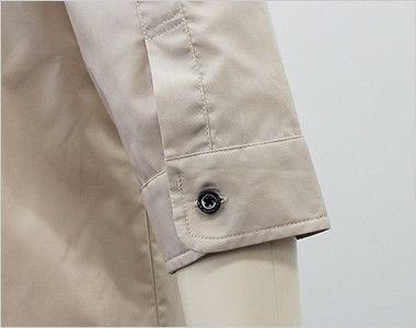 EP-7618 チトセ(アルベ) ブロードシャツ/七分袖(男女兼用) 袖口部分