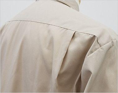 EP-7618 チトセ(アルベ) ブロードシャツ/七分袖(男女兼用) 動きやすいタック入り
