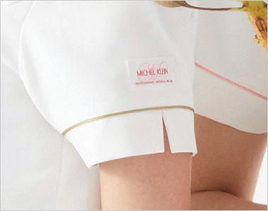 MK-0001 ミッシェルクラン(MICHEL KLEIN) ワンピース(女性用) スリットで可憐な印象に。