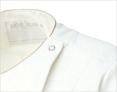 MK-0004 ミッシェルクラン(MICHEL KLEIN) ジャケット(女性用) ドットボタンで着脱がらくらくです。