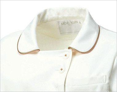 MK-0005 ミッシェルクラン(MICHEL KLEIN) ジャケット(女性用) フェミニンな襟元をパイピングで洗練された印象に