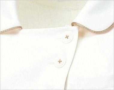 MK-0005 ミッシェルクラン(MICHEL KLEIN) ジャケット(女性用) 2つのシンプルなデザインボタン