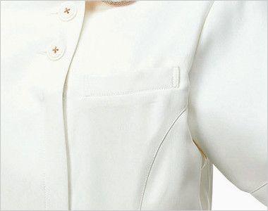 MK-0005 ミッシェルクラン(MICHEL KLEIN) ジャケット(女性用) ペンなどを収納できるポケット