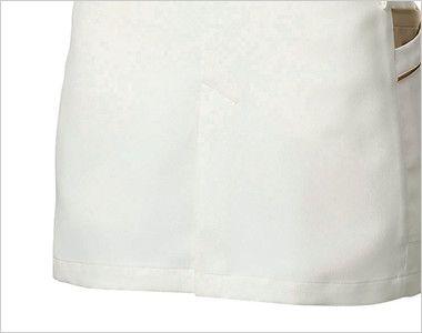 MK-0005 ミッシェルクラン(MICHEL KLEIN) ジャケット(女性用) しゃがんだ時に生地がつっぱりにくい後ろスリット
