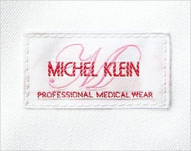 MK-0012 ミッシェルクラン(MICHEL KLEIN) ドクターコート(女性用) ミッシェルクランのロゴが刺繍で左袖についてます。