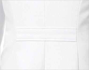 MK-0012 ミッシェルクラン(MICHEL KLEIN) ドクターコート(女性用) シェイプされたウエストラインをきれいに見せる腰ベルト