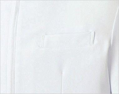 MK-0013 ミッシェルクラン(MICHEL KLEIN) ドクターコート(男性用) PHSなどを収納できるポケット